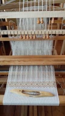 Draw Loom Pattern Weaving