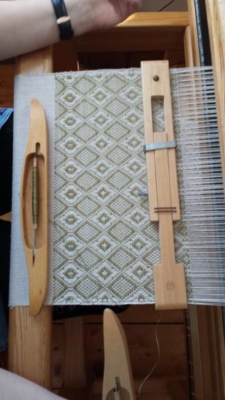 Kate's weaving