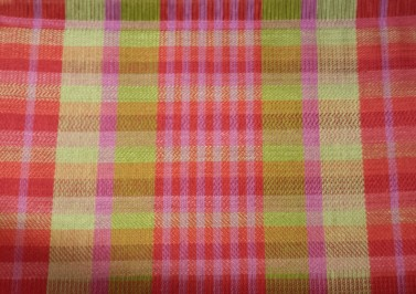 Samples of 4 colors in 4 different twills