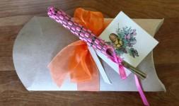 weaving lavendar wands